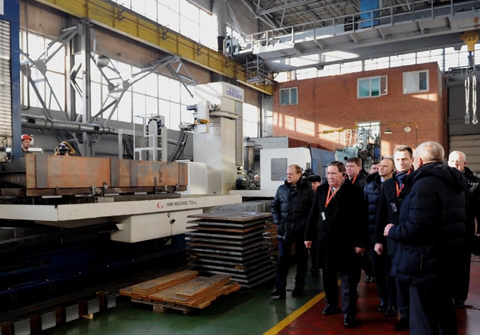 Практическая часть совещания прошла на одном из самых современных предприятий не только Курской области, но и России
