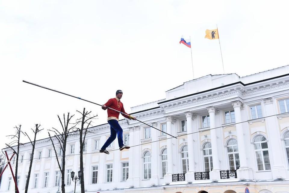 Масленица в Ярославле.