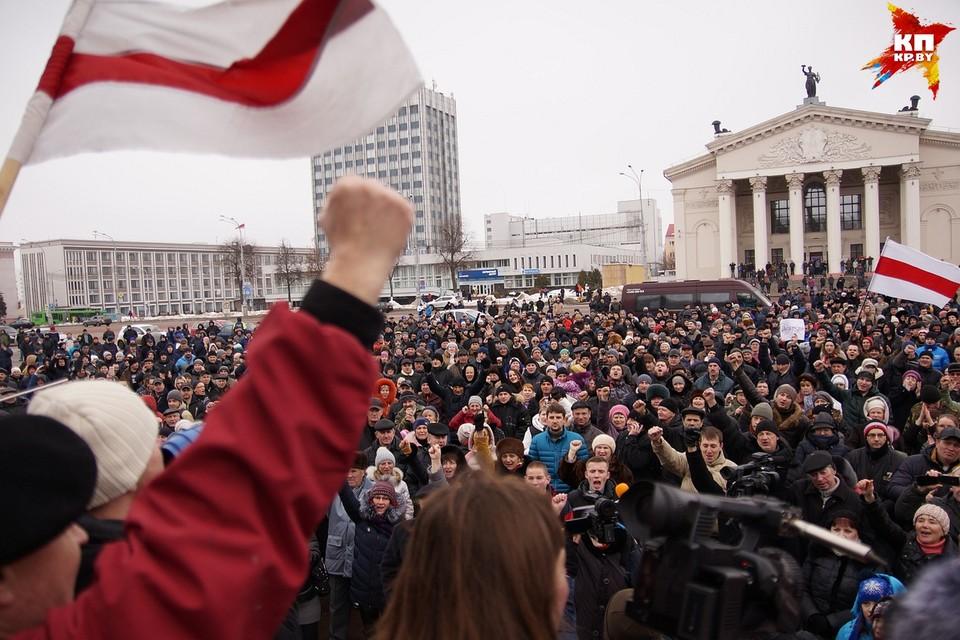 В Гомеле к подготовке Марша нетунеядцев приглашают всех желающих