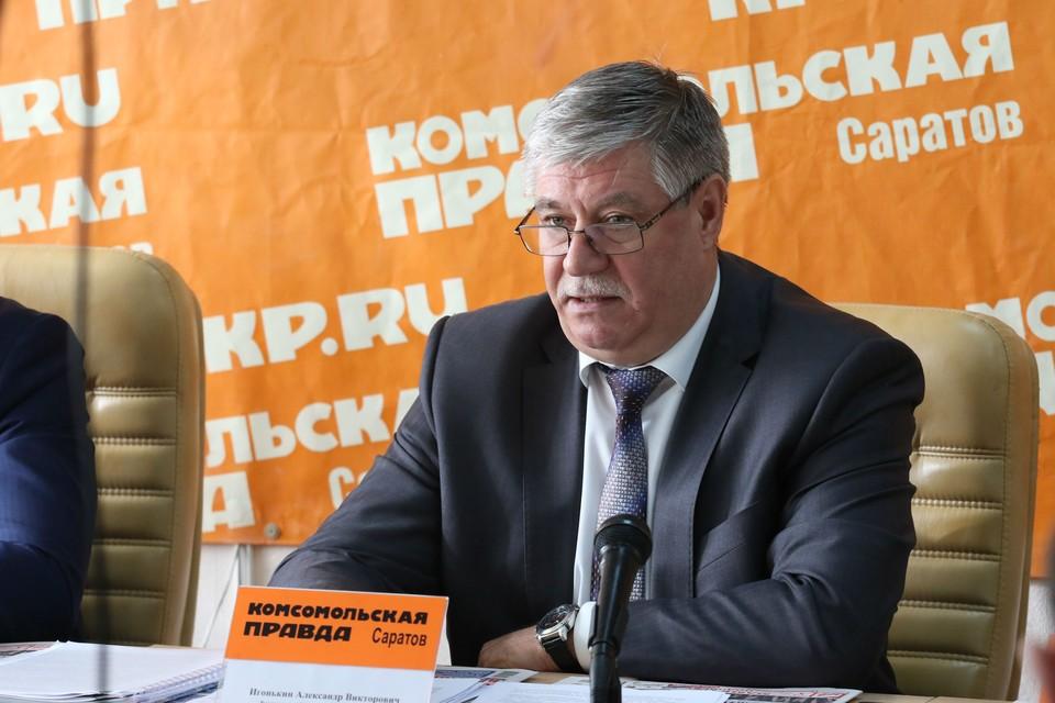 О новых требованиях по использованию земли рассказал руководитель управления Россельхознадзора по области Александр Игонькин