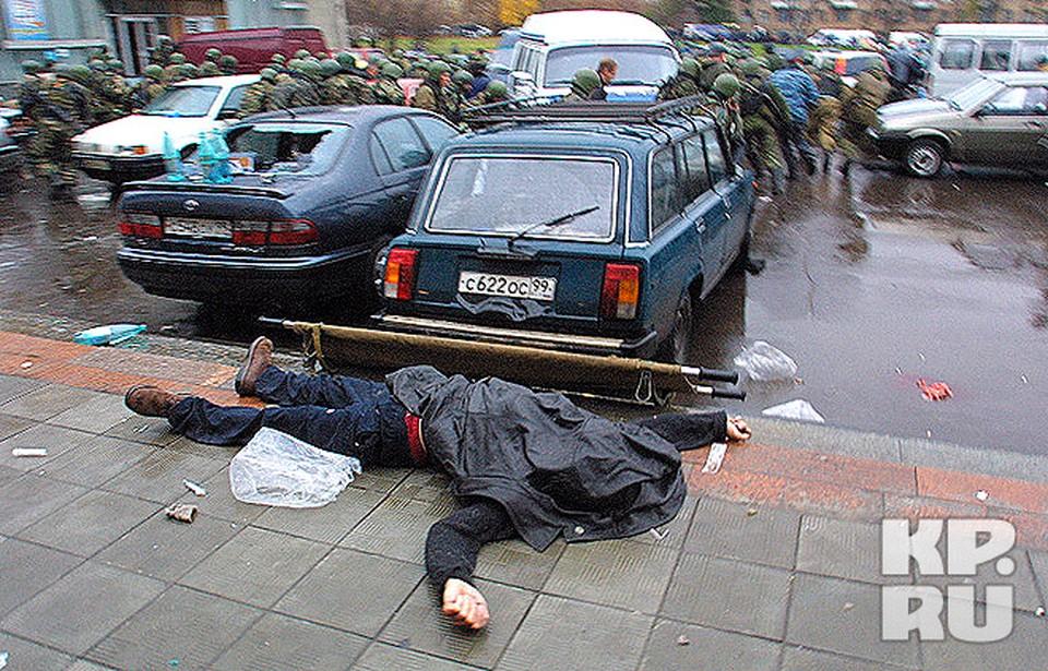 """""""Норд-Ост"""": жертвы трагедиии. 26 октября 2002 г."""