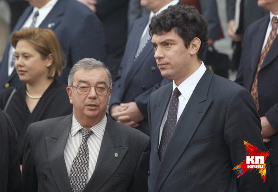 Евгений Примаков и Борис Немцов