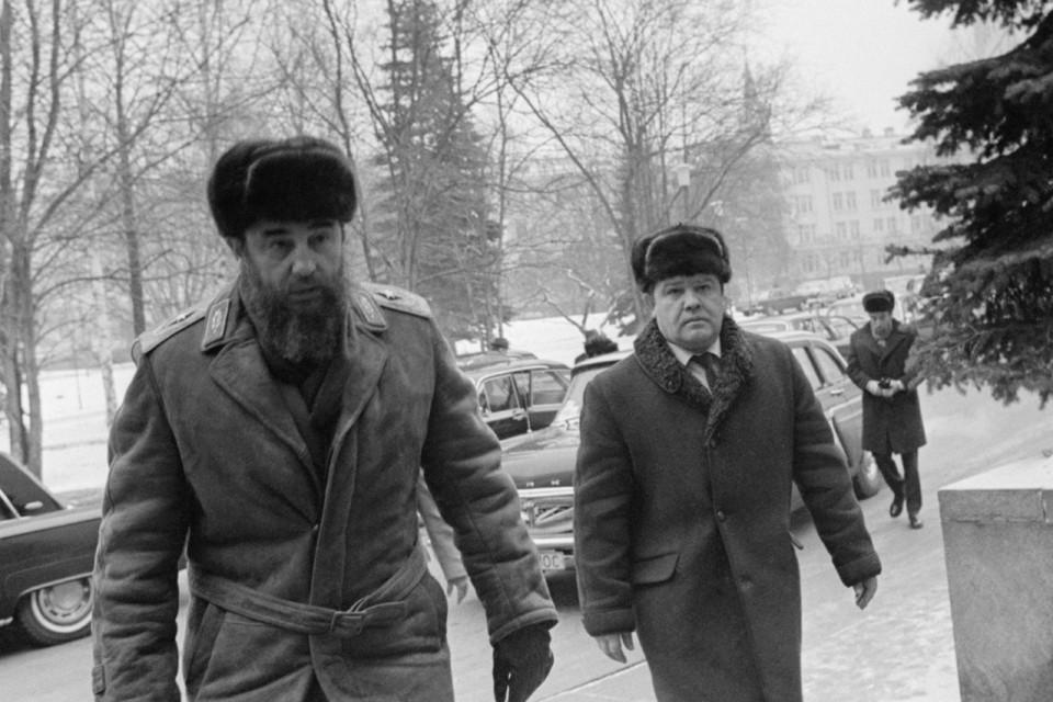 3 февраля 1981 год. Визит Фиделя Кастро на XXVI съезд КПСС