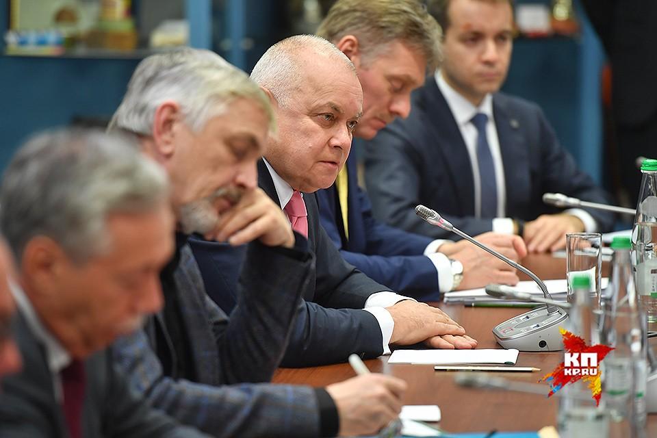 Генеральный директор российского международного информационного агентства «Россия сегодня» Дмитрий Киселев.