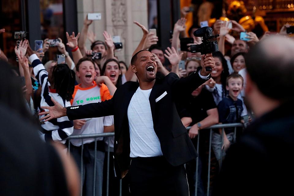 Уилл Смит в Лос-Анджелесе представил новый фильм со своим участием «Гемини»