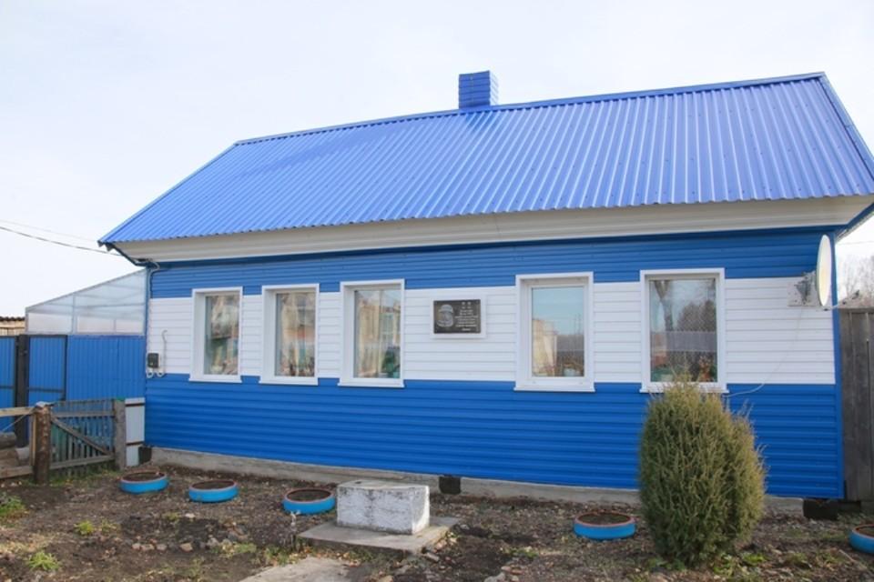 Дом в селе Листвянка Тисульского района Кемеровской области, где родился космонавт Алексей Леонов. ФОТО: пресс-служба АКО