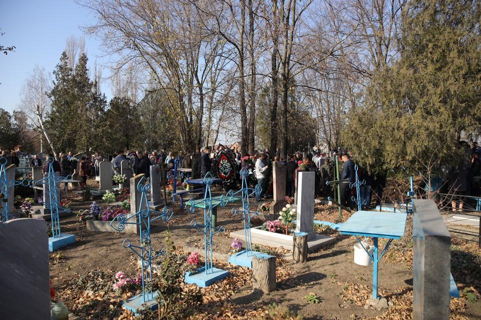 На Кубани простились с убитой доцентом аспиранткой Анастасией Ещенко Фото: Тимур СЕМЕНОВ.