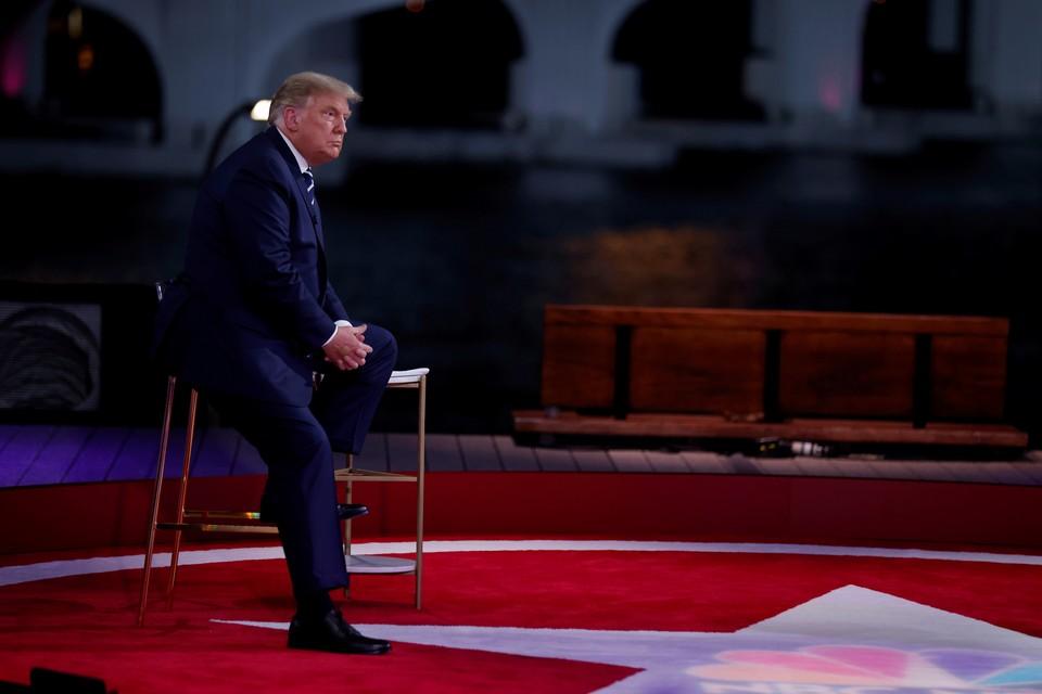 Дональд Трамп провел онлайн-встречу с избирателями в штате Флорида.