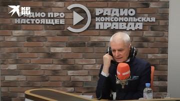 """Геннадий Онищенко слушает песню Юрия Богатикова """"Давно не бывал я в Донбассе"""""""