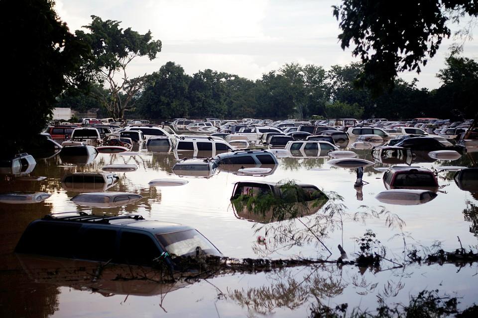 """По меньшей мере 16 человек погибли в Никарагуа из-за наводнений и оползней, вызванных ударом урагана """"Йота"""" по территории страны"""