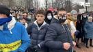Участник несанкционированной акции в центре Москвы пришел в маске с кодовым лозунгом нацистов