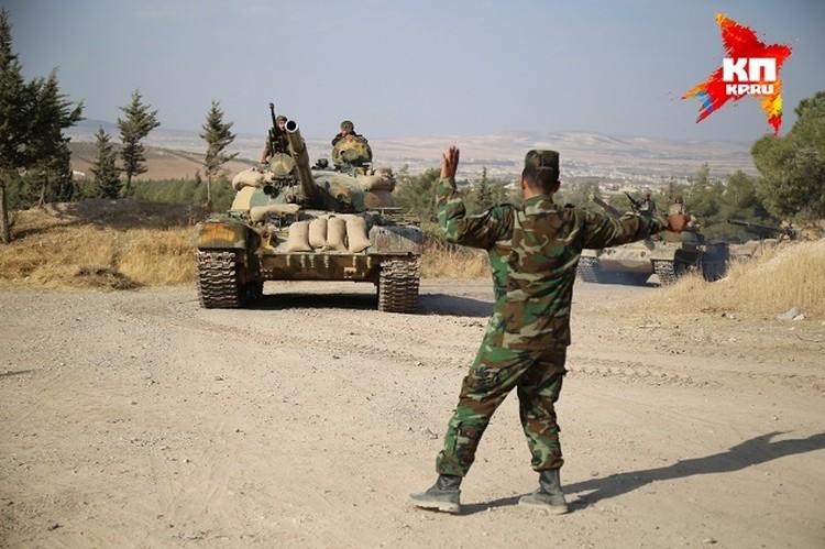 Основная цель готовящейся спецоперации - разблокировать дорогу между двумя крупными городами, Хамой и Хомсом.