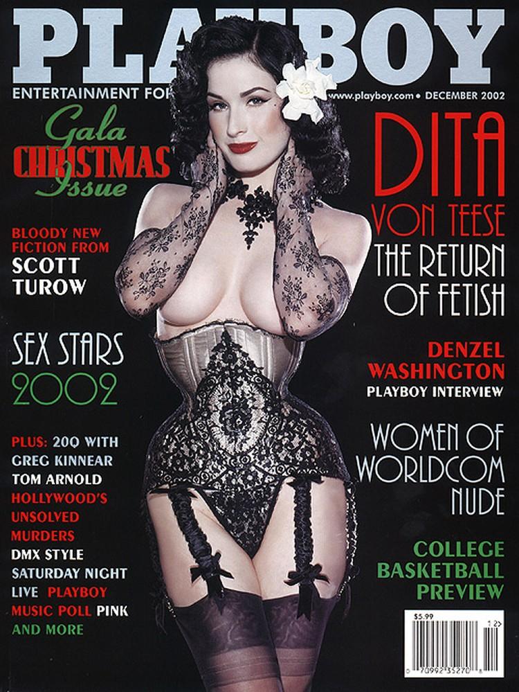 Дита фон Тиз на обложке мужского журнала №1.