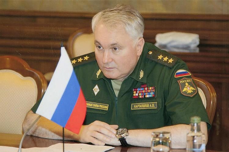 Заместитель начальника Генштаба генерал-полковник Андрей Картаполов.
