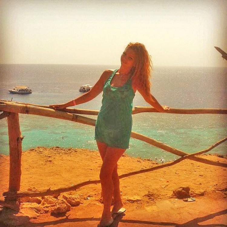 Ольга Кириллова была в восторге от моря, солнца и жары. Фото: соцсети