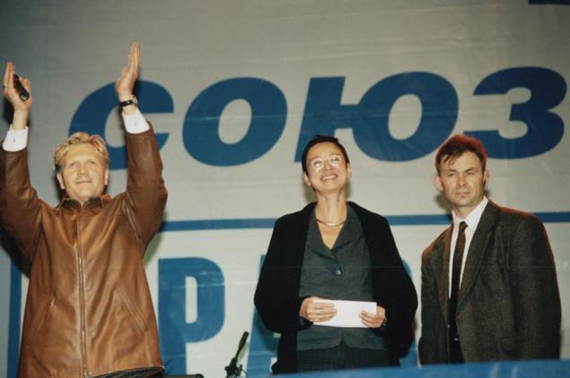 Шумков и экс-политик Ирина Хакамада. Фото: архив «КП» - Ижевск»