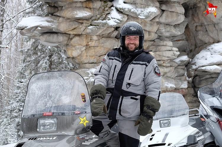 Турист ехал на снегоходе на перевал Дятлова, когда спас рожающую манси Фото: архив Константина Кузнецова