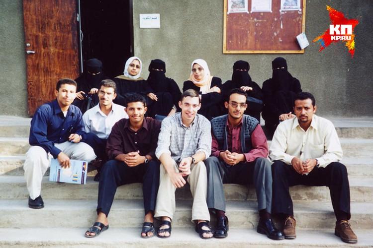 Во времена работы в Йемене