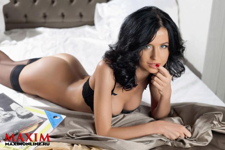 Мирослава снялась в эротической фотосессии журнала Maxim. Результатом осталась довольна