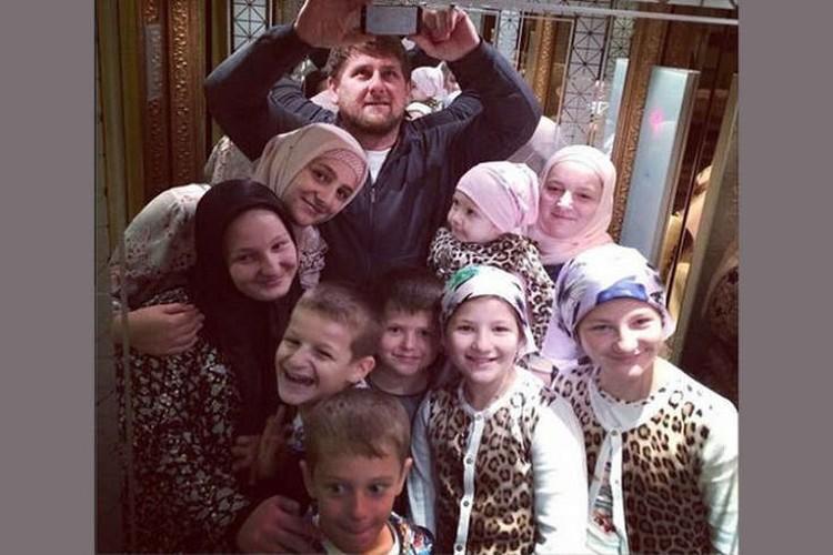 Рамзан Кадыров и его семья. Фото: Instagram
