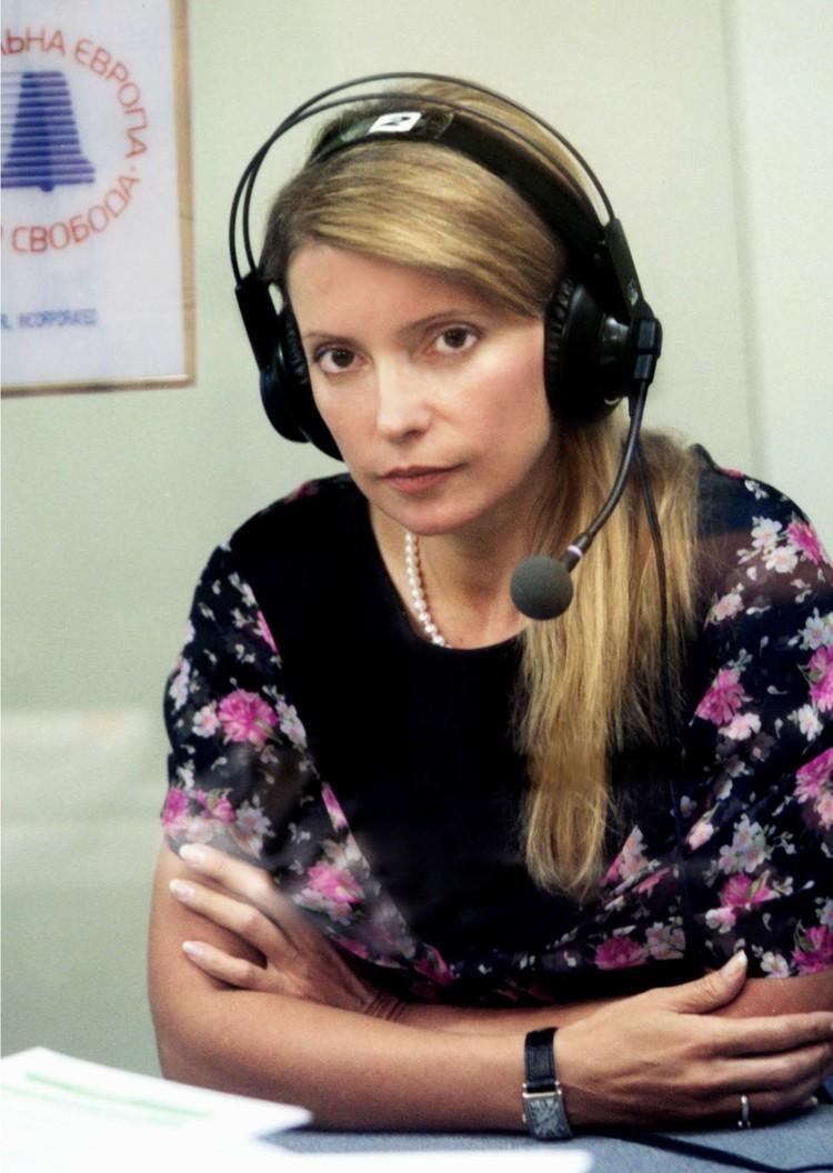 2004 год: одно из редких появлений Тимошенко на публике с распущенными волосами. Фото: Александр Прокопенко/ТАСС.