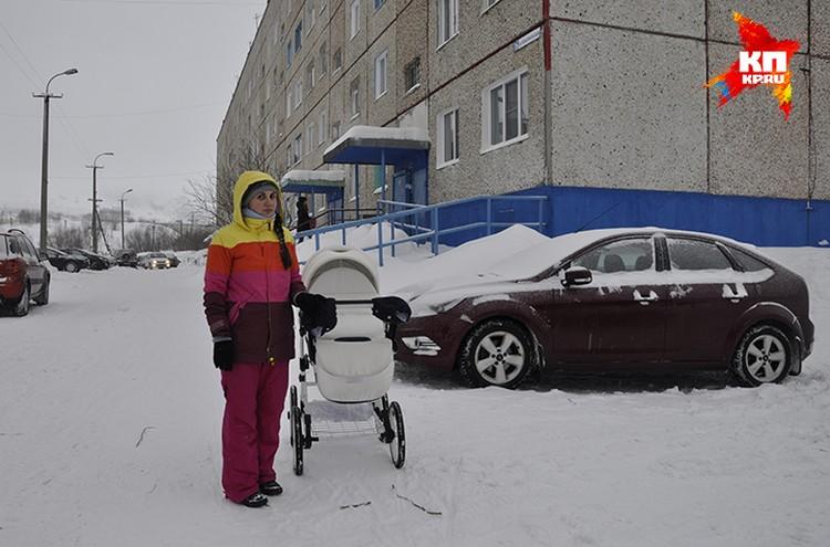 Молодая мама Анна Буброва своими глазами видела надвигающуюся лавину.