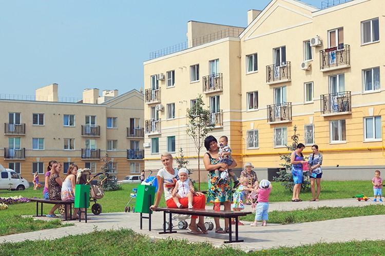 Добрососедские отношения - главное достоинство жилого района. Фото: пресс-служба «Корпорации Кошелев».