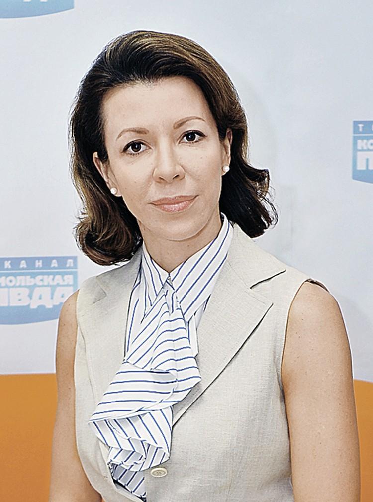 Вероника Крашенинникова.