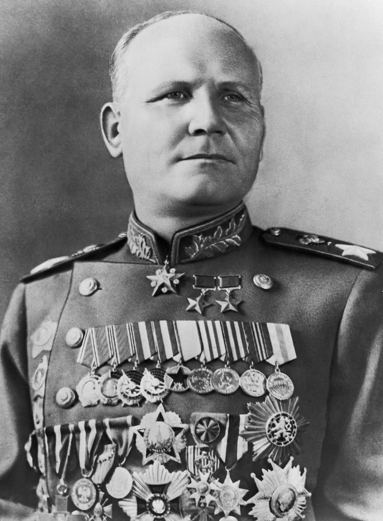 Четвертое место условного рейтинга маршалов Советского Союза можно с полным правом отдать Ивану Степановичу Коневу
