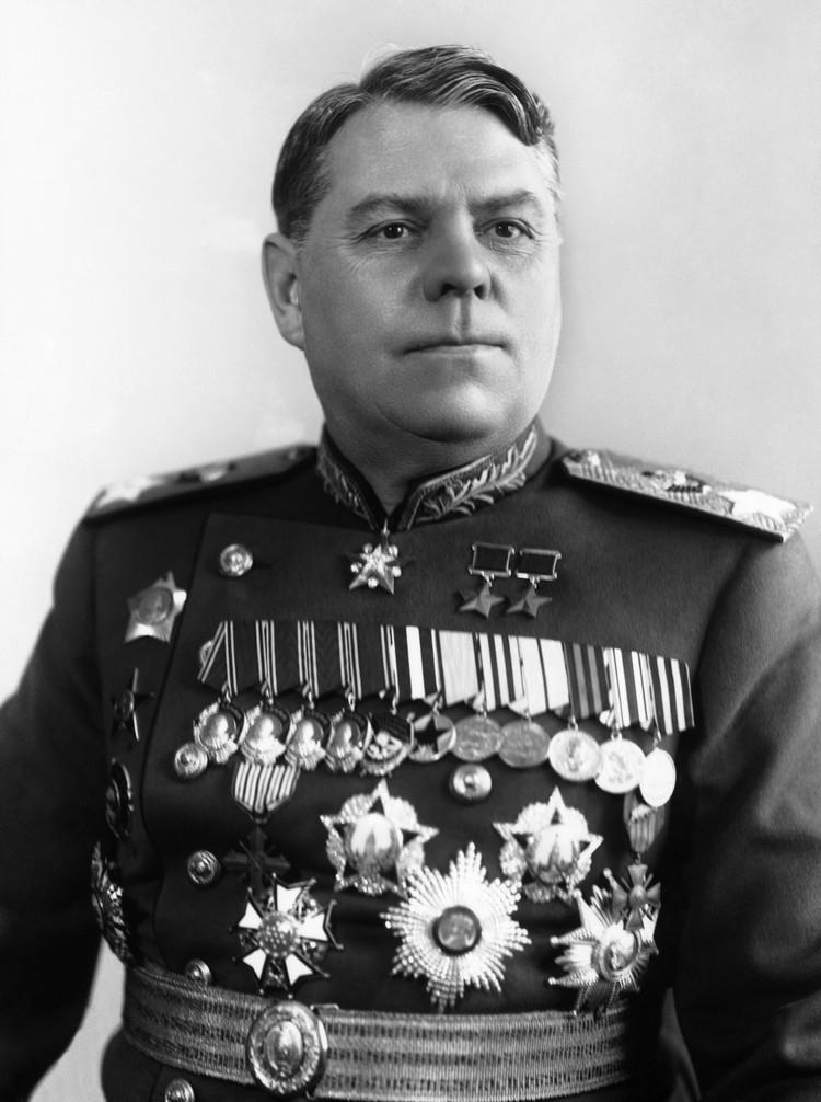 Второй в условном рейтинге маршалов Советского Союза – Александр Михайлович Василевский