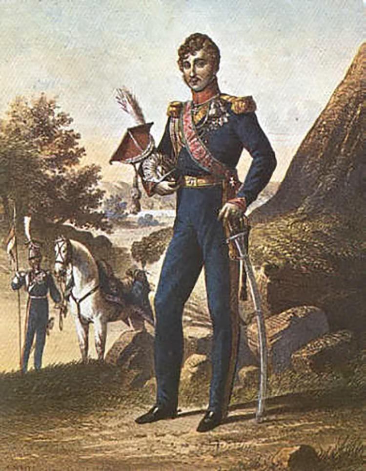 Доминик Радзивилл стал на сторону Наполеона.