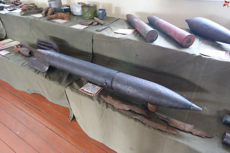 Если такой снаряд от «Катюши» попадал в танк, то уничтожалось все навесное оборудование машины