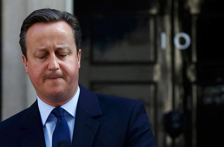 Дэвид Кэмерон уходит в отставку!