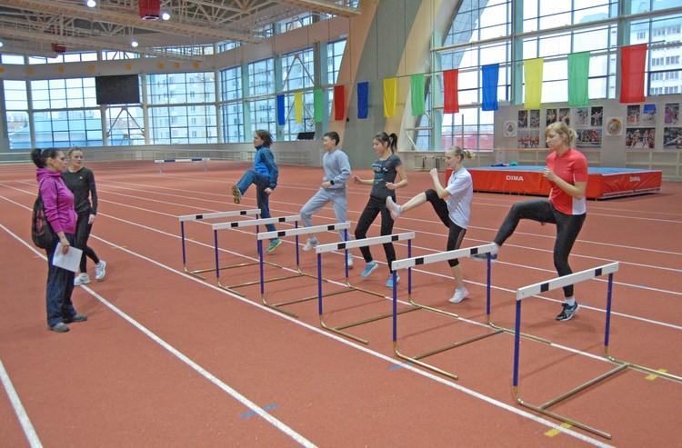Студент университета физической культуры должен быть в хорошей спортивной форме!