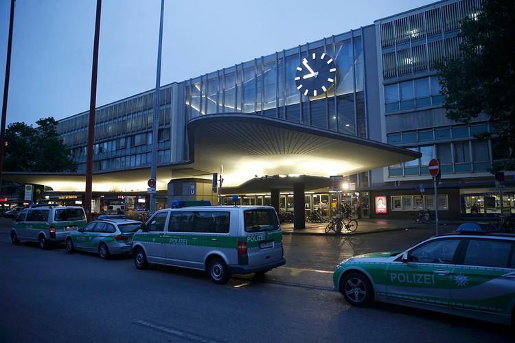 Центральный железнодорожный вокзал Мюнхена эвакуирован