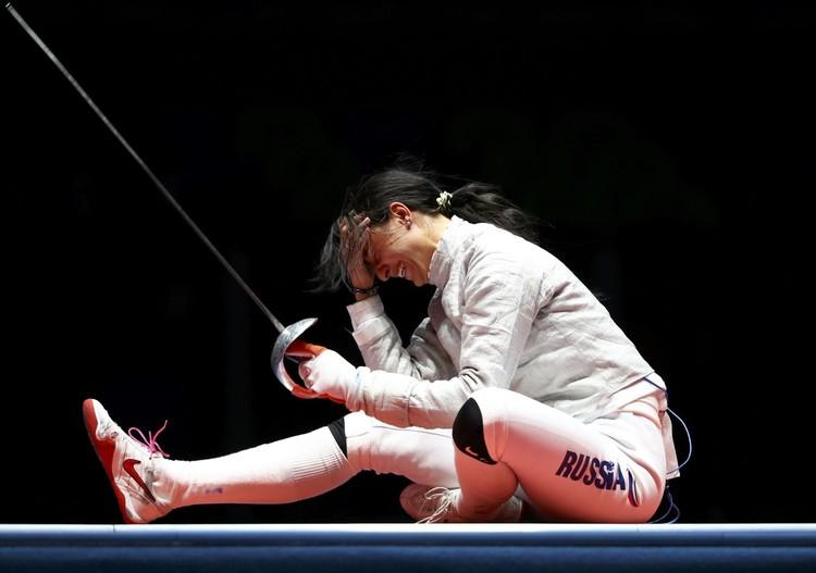 22-летняя Яна Егорян - новая олимпийская чемпионка по фехтованию.