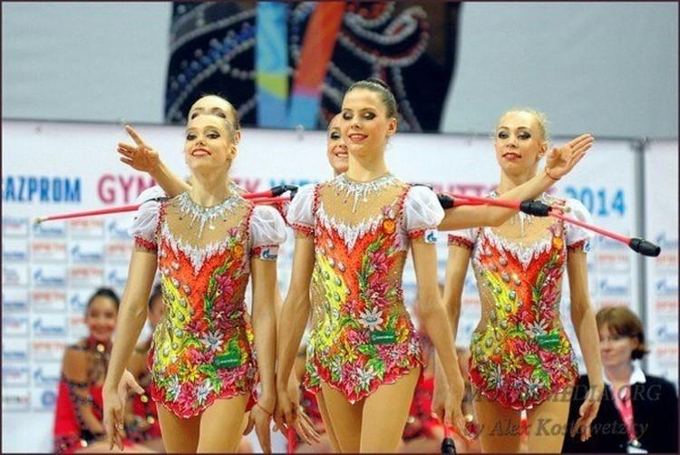 Вера (крайняя слева) на соревнованиях в Штуттгарте 2 года назад.