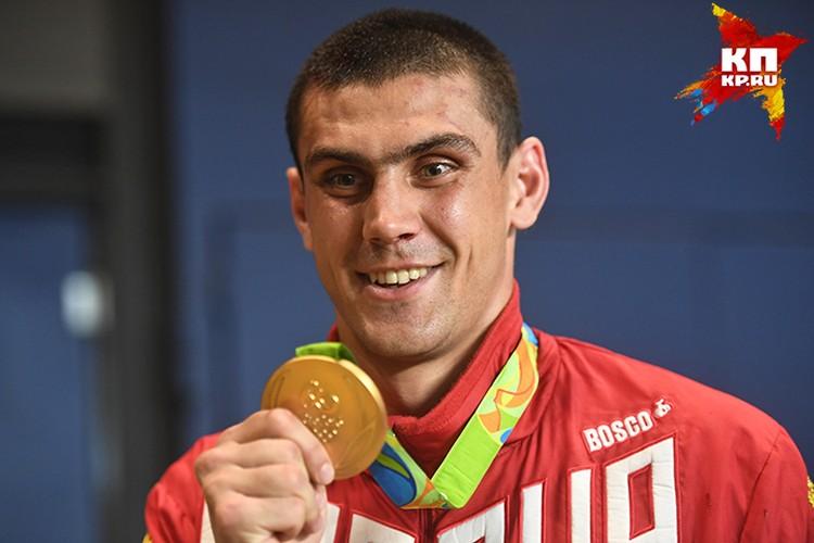 Евгений Тищенко занял первое место среди мужчин весом до 91 килограмма