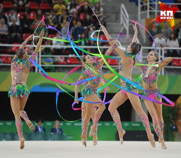 По художественной гимнастике российские спорсменки завоевали золото в командном выступлении и в личном - Маргарита Мамун