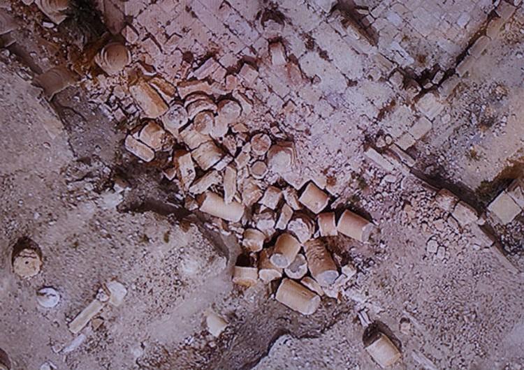 Останки колонн Зенобии