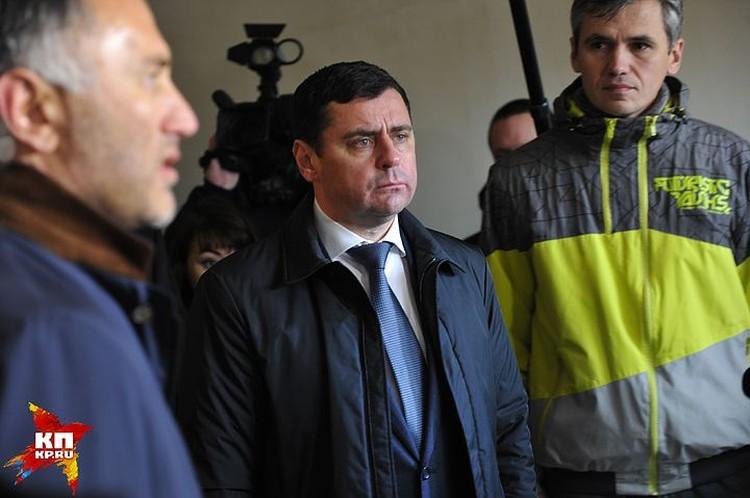 И.о. губернатора Ярославской области Дмитрий Миронов.