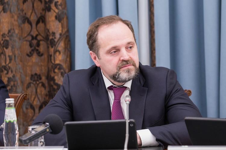 Министр природных ресурсов и экологии Сергей Донской. Фото: Юлиан ВИКТОРОВ