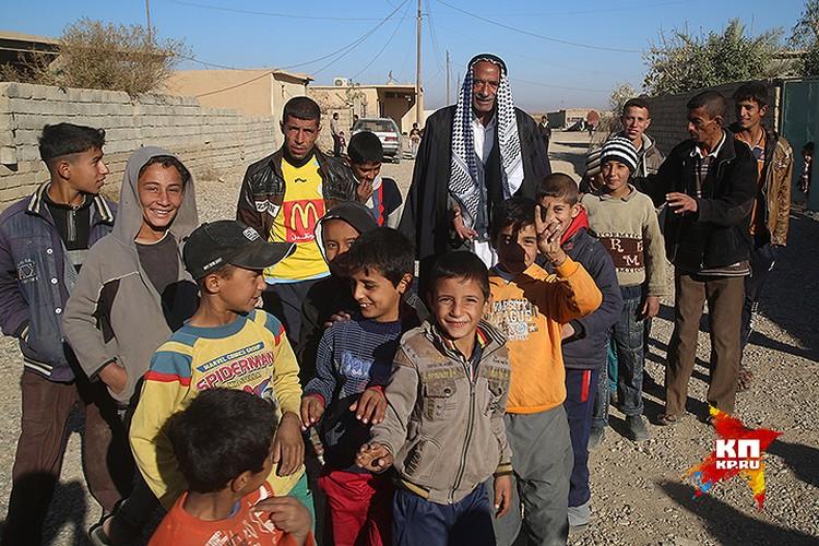 Жители Нимруда, пару лет прожившие под властью ИГИЛ (организация запрещена в РФ).