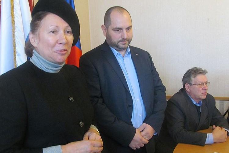 Управляющий партнер ООО «Бергус» Павел Спичаков встретился с прихожанами