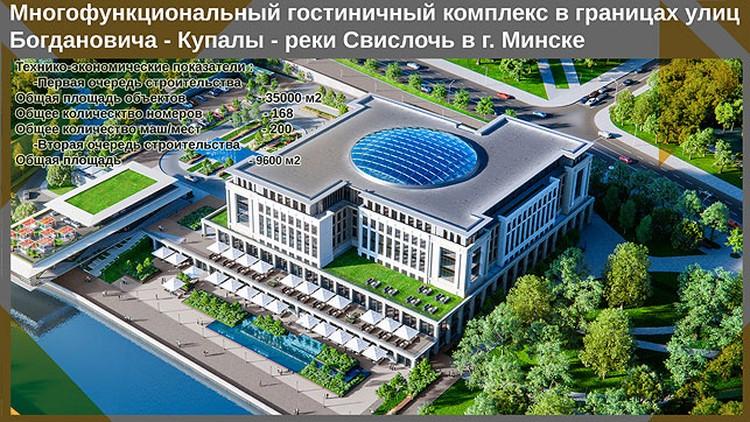 Это слайд из презентации, которую показывали президенту во время доклада о перспективах развития Минска 2 сентября 2016 года. Фото: БелТА.