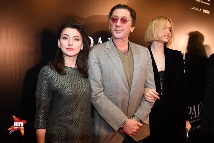 Григорией Лепс с супругой Анной и дочерью Ингой