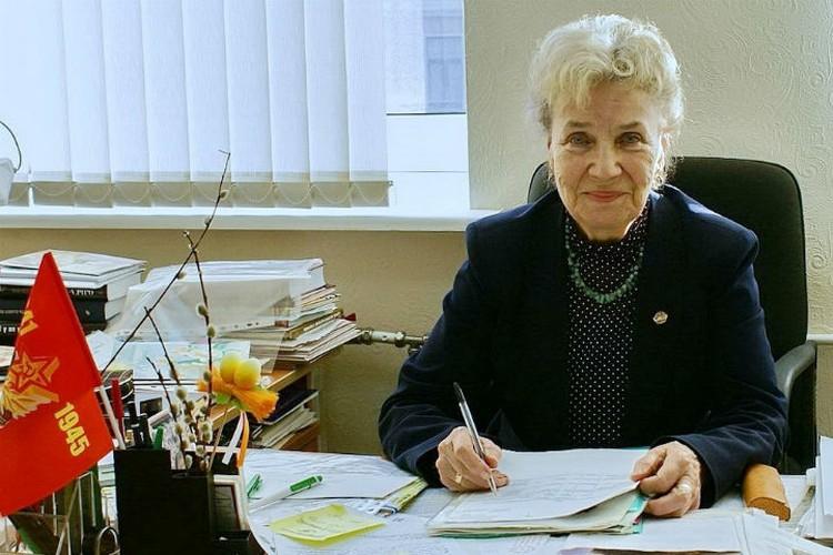 Ирина Борисовна Скрипачева прожила в осажденном Ленинграде все 872 дня. Фото: veteranleningradspb.ru