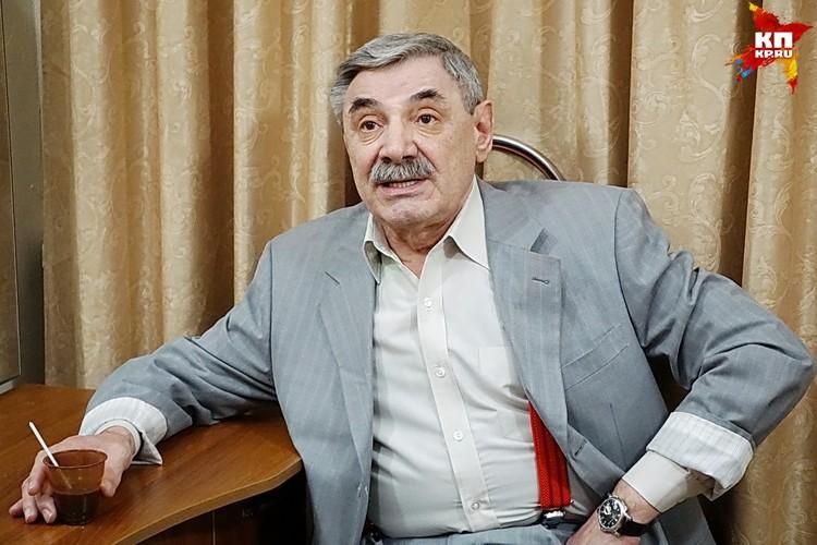 Александр Панкратов-Черный в Воронеже.