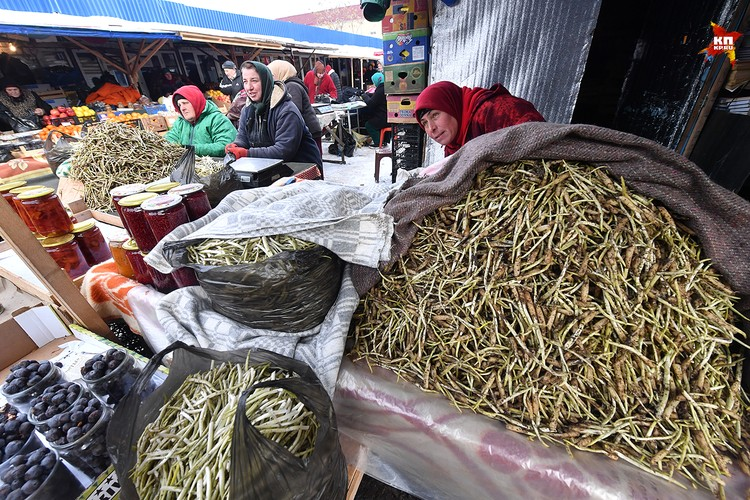 Ходовой товар на рынке - спаржа