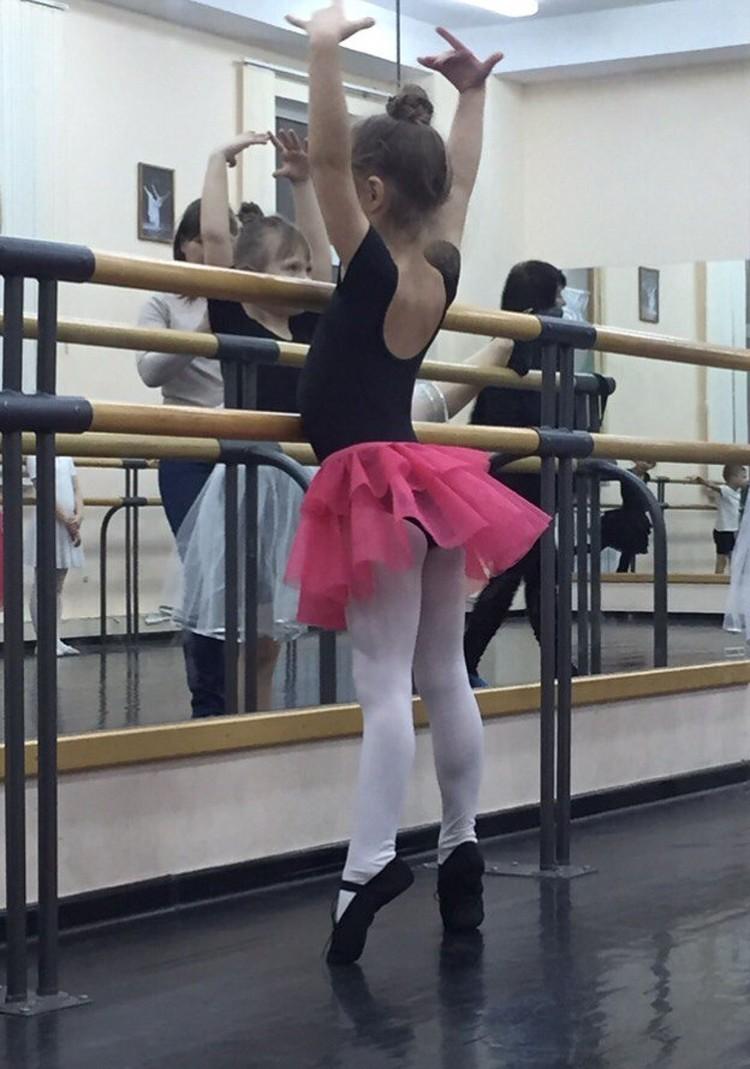 Балетом Полина занимается с пяти лет. Фото: страница Вконтакте Полины Бесединой.